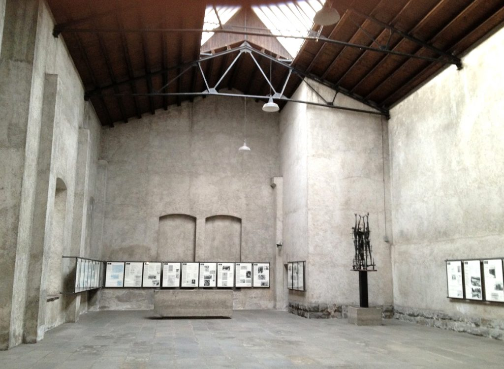 Sala delle commemorazioni - Mostra storica della Risiera